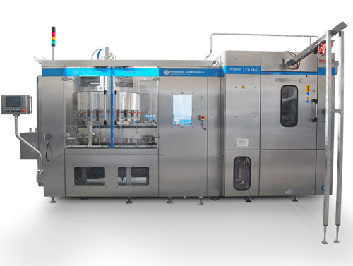 CB244 Rotary Beverage Filler and Seamer